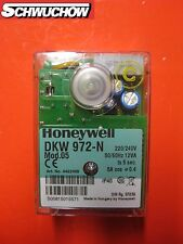 Control Del Quemador Honeywell Satronic DKW 972-n MOD.5 Máquina de aceite-leña