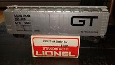 "Lionel #9805 Grand Trunk Standard ""O� Reefer Car (1973-75) (14R)"