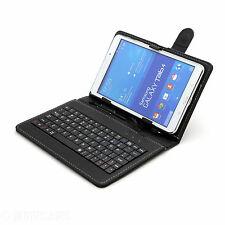 Piel Artificial FUNDA DE TECLADO CON SOPORTE PARA SAMSUNG, Lenovo, LG Tableta