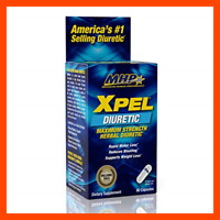 MHP Xpel Maximum Strength Diuretic Water Pills For Retention Relief We 80 Count