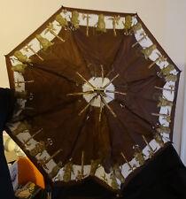 Parapluie de poche télescopique vintage Knirps avec housse