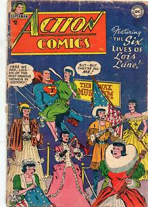 ACTION COMICS #198 Superman Lois Lane  RARE Isssue Golden Age 1954