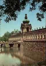 DRESDEN Sachsen AK DDR Postkarte Kronentor des Zwinger, Verlag Brück & Sohn