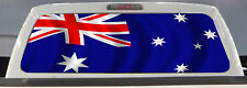 AUSTRALIAN FLAG TRUCK BACK WINDOW GRAPHIC DECAL 50/50 PERFORATED VINYL TINT..