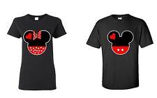 Couple T Shirt LOVE CARTOON- Couple Tee couple Matching  Shirts LOVE super cute