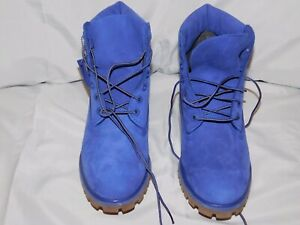 TIMBERLAND PURPLE SUEDE SHORT BOOTS SIZE 9M