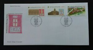Singapore 1993 SG715/7 Conservation of Tanjong Pagar District FDC