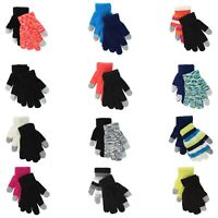 SO Touchscreen Texting Gloves for Girls - 2 Pack - One Size