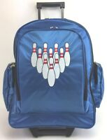 NEW XSTRIKE 1 BALL ROLLER BOWLING BAG BLUE HOLIDAY PRICE $41.95