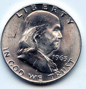 Franklin half 1963-d (SEE PROMO)
