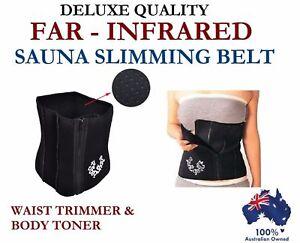 DELUXE WAIST TRIM SAUNA CLINCHER SLIMMING WEIGHT BELLY SHAPER TRIMMER BELT