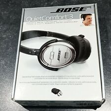 Bose QuietComfort 3 / QC3 Noise-cancelling Wired Headphones with case in box