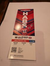 Montreal Canadiens  ticket stub unused. Brendan Gallagher