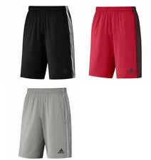 Adidas Team Issue 3s Heathered Mens climalite Shorts Ret.$30 M, L, XL, XXL