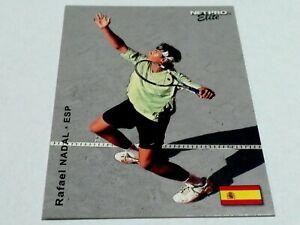 Rafael Nadal 2003 Netpro Elite    1 of 2000    Tennis Card    Rookie RC