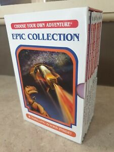 Choose your own Adventure Epic Collection 8 books lot , By R A Montgomery