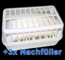 Space Dehumidifying Set: 1 Device + 3 x Refill Pack à 1,2 KG Air Dehumidifying