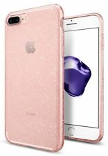 Original Spigen Schutzhülle iPhone 7+ PLUS Liquid Crystal Cover Case pink gold