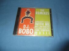 "D.J. BoBo ""The Remixes"" CD BERGER SWITZERLAND 1999 - SEALED"