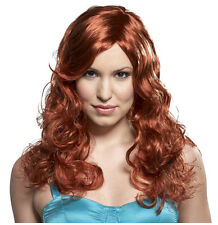 Synthetic Role play Reenactment or Crossdresser Costume Long Red head Wig
