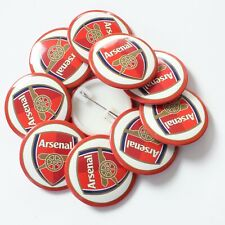 Wholesale 38mm Badges Official Arsenal Football Club Logo (White)