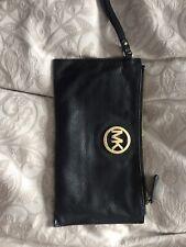 Michael Kors Black Clutch/Wristlet Bag Genuine Leather