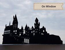 Hogwarts Castle detailed silhouette 22cm black Vinyl Sticker Decal Harry Potter