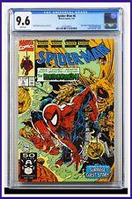 Spider-Man #6 CGC Graded 9.6 Marvel January 1991 Todd McFarlane Cover Comic Book