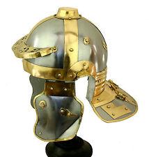 Römerhelm Legionär Niedermörmter Helm Larp Rüstung Reenactment Italic  sca R254
