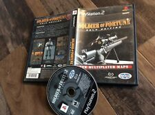 Soldier of Fortune: Gold Edition (Sony PlayStation 2, 2001) Used Free US S/H