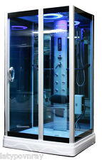 Steam Shower Room,Foot massage,Aromatherapy.Bluetooth.7 Year Warranty