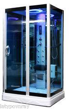 Steam Shower Room,Foot massage,Aromatherapy.Bluetooth.7 Year Warranty