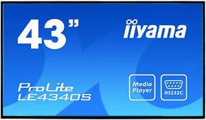 "Ecran Moniteur IIYAMA led 43"" Prolite LE4340S-B1 Full HD (pieds & house)"