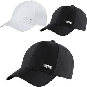 Adidas Mens Baseball Caps Lightweight Metal Badge Sports Cap Adjustable Size Hat