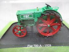 DV9186 HACHETTE 1/43 TRACTEUR FIAT 700A 1928 REF G1093078 TRES BON ETAT
