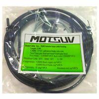 MOTSUV Jeux de cables de velo Kit de tuyau de cable de logement Frein a lev W4N7
