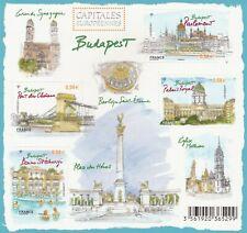 BLOC CAPITALES EUROPÉENNES : BUDAPEST  (4 TIMBRES ) 2011