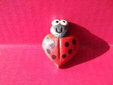 "Kitchen Magnet Super Cute Mini Ladybug 1.75""in Tall"