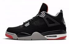 Air Jordan 4 Retro OG Bred 2019' Youth 1Y Shoes Sizes 308497-060 408452-060