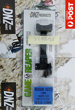 "DNZ Game Reaper 1 Piece Scope Mount - Ruger 10 / 22 - 1"" - High Black - #11084"