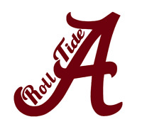Alabama Roll Tide Crimson Tide Decal Vinyl Sticker , See Listing for Details