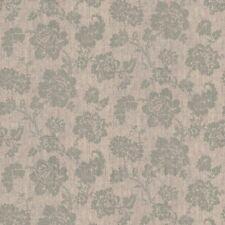 Casa Delle Bambole Grigio Floreale Motivo Su Tessuto Stile Stampa
