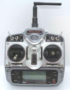 Spektrum dx7 dsm2 transmitter  mode2 with 2200mah lipo battery working fine