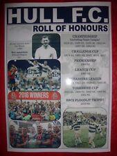 Hull FC club history roll of honours - souvenir print