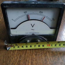 Volt Meter 300 Volts analogue 1970's model never used