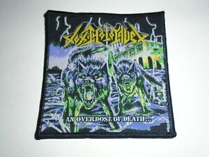 TOXIC HOLOCAUST AN OVERDOSE OF DEATH WOVEN PATCH