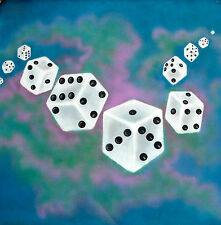 """Contemporary Art - """"Tumblin' Dice"""" Painting - 28"""" square - acrylic on canvas"""
