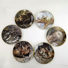 """Bradford Exchange A Family Affair 8"""" Collectors Plates - Set of 6 -Carl Brenders"""