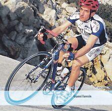 CYCLISME carte cycliste GIANNI FARESIN équipe  GEROLSTEINER