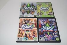 Sims 3 Deluxe Game With Late Night World Adventures & High End Loft Stuff Lot